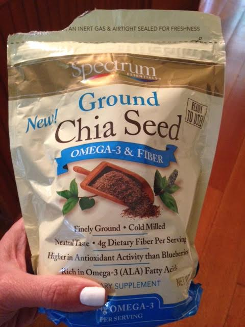 Chia seeds are loaded with protein and fiber!